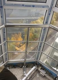 Перила на балкон 3 ригеля